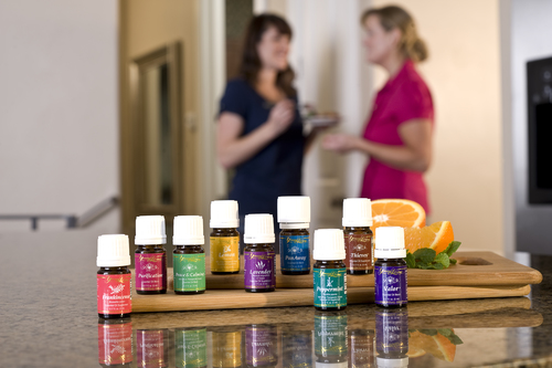 Young Living Catalog Shoot 3/2009